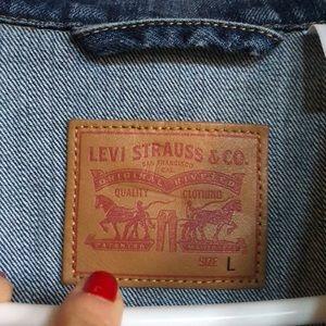 Levi ex boyfriend trucker jacket